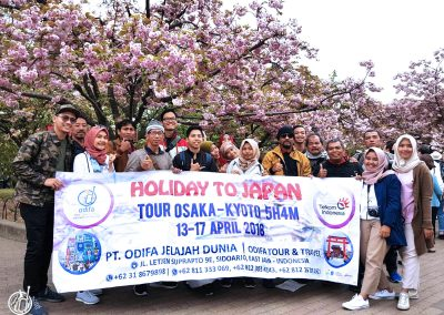 Tour Jepang Osaka Kyoto