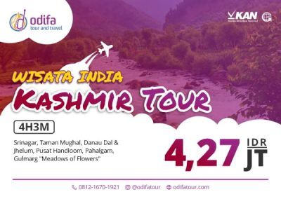 Paket Tour Kashmir India 4 Hari