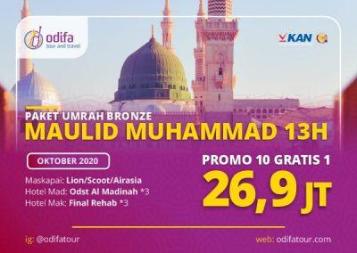 Umroh Maulid Nabi Muhammad 13H (Bronze)